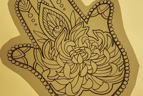 New drawing that I would love to tattoo on someone. 6 inches long. Inbox me for serious inquiries!