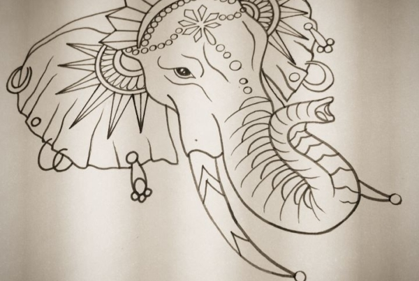 I would love to tattoo this on someone. Inbox for serious inquiries. Its about 5-6 inches