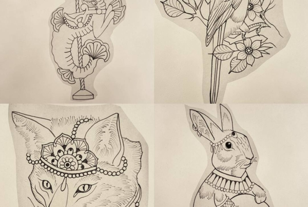 I have designs available to be tattooed. Message me on here or email me to book your appointment. Thanks for looking!