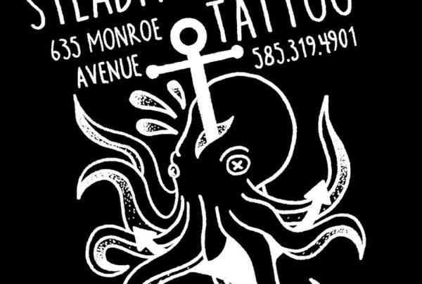Designed a new sticker today to promote myself and the shop. Hopefully have them in a few weeks! #smokemdead #steadfasttattoo . . . . . ((¥)) #tattoos #btattooing #blackworkerssubmission #iblackwork #blackwork #blackworkers #inkstinctsubmission #blacktraditionals #BLACKTATTOOMAG #blxckink #tttism #TTTpublishing #greatattoo #blackflashwork #TattooLife #darkartists #blackworkershero #wiilsubmission #dot.work.ink #traditionaltattoo #onlythedarkest