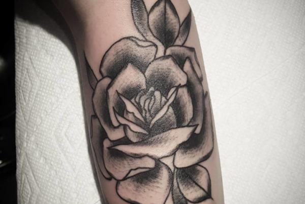 Little rose walk in.