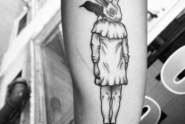 Alli snaked this dope design we came up with🙌🏼 #smokemdead #steadfasttattoo . . . . . ((¥)) #tattoos #btattooing #blackworkerssubmission #iblackwork #blackwork #blackworkers #inkstinctsubmission #blacktraditionals #BLACKTATTOOMAG #blxckink #tttism #TTTpublishing #greatattoo #blackflashwork #TattooLife #darkartists #blackworkershero #wiilsubmission #dot.work.ink #traditionaltattoo #onlythedarkest #blackandgrey #occultarcana #tattoolife #oldlines #TAOT #nowash