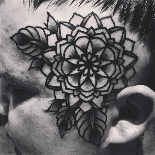 Fuckin it up with ma dude @hawkcityrandy ✊🏼 #steadfasttattoo . . . . . ((¥)) #fractalflower #tattoos #btattooing #blackworkerssubmission #iblackwork #blackwork #blackworkers #inkstinctsubmission #blacktraditionals #BLACKTATTOOMAG #blxckink #tttism #TTTpublishing #greatattoo #blackflashwork #TattooLife #darkartists #blackworkershero #wiilsubmission #traditionaltattoo #onlythedarkest #blackandgrey #occultarcana #tattoolife #oldlines #TAOT #nowash #FORMink