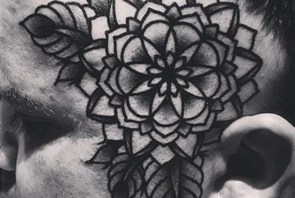 Fuckin it up with ma dude @hawkcityrandy ✊🏼 #steadfasttattoo . . . . . ((¥)) #fractalflower #tattoos #btattooing #blackworkerssubmission #iblackwork #blackwork #blackworkers #inkstinctsubmission #blacktraditionals #BLACKTATTOOMAG #blxckink #tttism #TTTpublishing #greatattoo #blackflashwork #TattooLife #darkartists #blackworkershero #wiilsubmission #traditionaltattoo #onlythedarkest #blackandgrey #occultarcana #tattoolife #oldlines #TAOT #nowash #FORMink