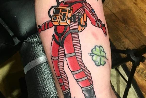 2001 Space Odyssey tattoo for Phil🙌🏼#steadfasttattoo . . . . . ((¥)) #2001spaceodyssey #tattoos #btattooing #blackworkerssubmission #iblackwork #blackwork #blackworkers #inkstinctsubmission #blacktraditionals #BLACKTATTOOMAG #blxckink #tttism #TTTpublishing #greatattoo #blackflashwork #TattooLife #darkartists #blackworkershero #wiilsubmission #traditionaltattoo #onlythedarkest #blackandgrey #occultarcana #tattoolife #oldlines #TAOT #nowash #FORMink