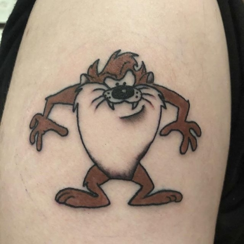 a bit of 90s action for Andrew's first tattoo!! Thank you so much 🌪🌪🌪 . . . . #tattoo #blackworktattoo #inkstinct #blackwork #blxckink #btattooing #blkttt #blackworkers #waverlyink #tttism #rochesterny #rochestertattoo #ladytattooer #tattoodo #workhorseirons #steadfast #onlythedarkest #foxtailtattoos #inkwork #linework #whipshaded #tradworkers #boldtattoo #blackworkartists #taztattoo