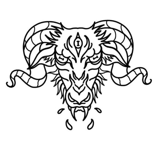 Evil goat for Justin 🔥 excited to tattoo this one! . . . #tattoo #blackworktattoo #inkstinct #blackwork #blxckink #blackink #btattooing #blkttt #blackworkers #waverlyink #tttism #rochesterny #flashworkers #rochestertattoo #ladytattooer #tattoodo #workhorseirons #steadfast #onlythedarkest #foxtailtattoos #inkwork #linework #whipshaded #tradworkers #boldtattoo #blackworkartists #blackclawneedles