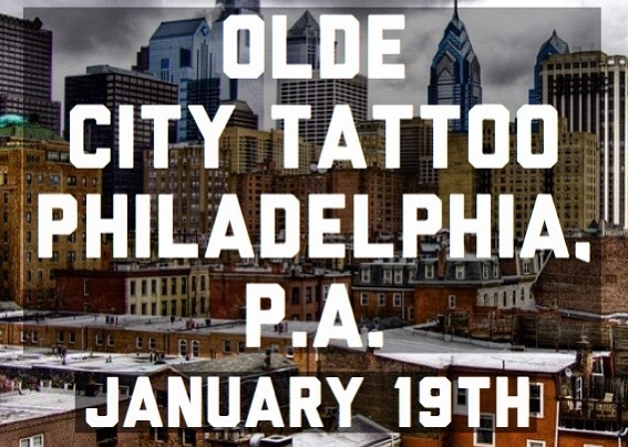 January 19th I'll be working at @oldecitytattoo ! *FULLY BOOKED* thank you everyone!!